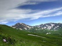 Une montagne d'Oshten de Caucase Photographie stock