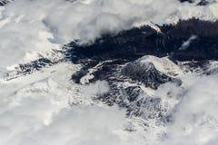 Une montagne de l'Himalaya Images stock