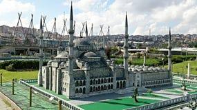 Une mosquée grise à Istanbul Photos stock