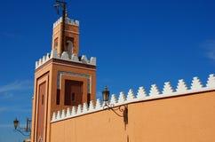 Une mosquée à Marrakech Photos stock