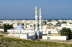 Une mosquée dans Sur, Oman Images libres de droits
