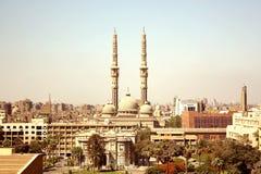 Une mosquée et une église Image libre de droits