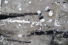 Une nappe protectrice avec le fond blanc et noir de grunge de peinture images libres de droits