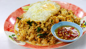 Une nourriture thaïe de paraboloïde Photographie stock