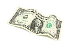 Une nouvelle facture à un dollar US Photographie stock