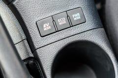 Une nouvelle voiture hybride de Toyota Auris Photo stock