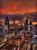 Une nuit à Bangkok Photographie stock libre de droits