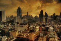 Une nuit à Bangkok Photos stock