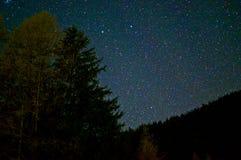 Une nuit étoilée Image libre de droits