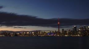Une nuit tirée de Toronto photographie stock