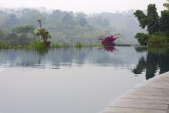 Une oasis indonésienne de l'eau Image stock