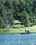 Une pêche de paires Images stock