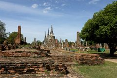 Une pagoda étonnante Image libre de droits
