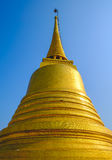Une pagoda d'or Photographie stock