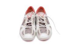 Une paire chaussures de course de toutes neuves Photos stock