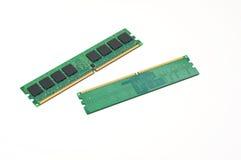Une paire de bâtons de mémorisation par ordinateur Photographie stock