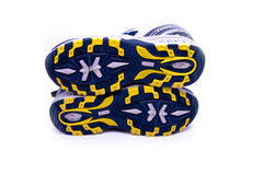 Une paire de chaussures courantes Images stock