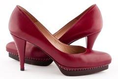 Une paire de chaussures de Bourgogne Photos libres de droits