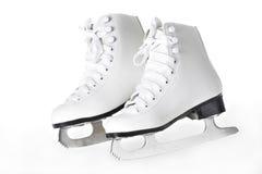 Une paire de figure patins Images libres de droits