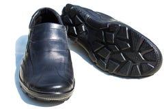 Une paire des chaussures des hommes Image libre de droits