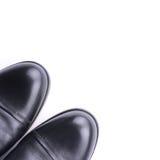 Une paire vue des chaussures des hommes de la première Images stock