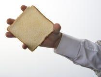 Une part de moulage de pain photo libre de droits
