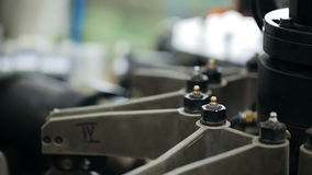 Une partie d'équipement pour la production Traitement du plan rapproché à l'intérieur de l'usine banque de vidéos