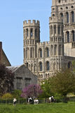 Une partie d'Ely Cathedral Photographie stock