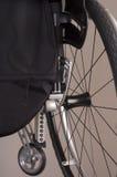 Une partie d'un fauteuil roulant Photo stock
