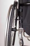 Une partie d'un fauteuil roulant Images libres de droits