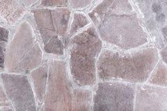 Une partie d'un mur en pierre Photographie stock libre de droits