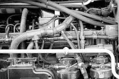 Une partie d'une engine de véhicule Photographie stock