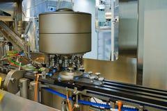 Une partie d'une machine pour la production des médecines Image stock