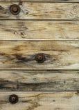 Une partie d'une table en bois humide Photographie stock