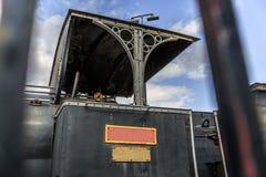 Une partie d'une vieille locomotive à vapeur Photographie stock