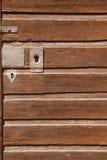Une partie d'une vieille porte en bois photographie stock
