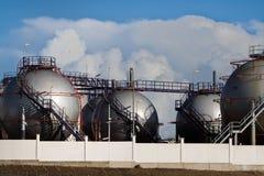 Une partie d'usine de dessalement images stock