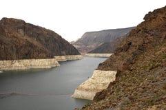 Une partie de barrage de Hoover Image stock