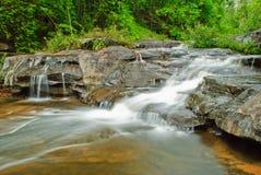 Une partie de cascade à écriture ligne par ligne de Huailuang Image stock