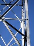 Une partie de construction métallique Images libres de droits