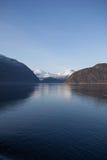 Une partie de fjord de Hardanger Photo libre de droits