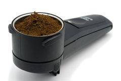 Une partie de générateur de café Photos stock