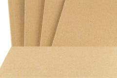Une partie de la couverture de livre dans la couleur brune Image libre de droits