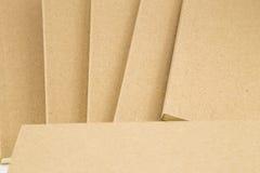 Une partie de la couverture de livre dans la couleur brune Photographie stock libre de droits