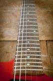 Une partie de la guitare électrique Photos stock