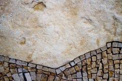 Une partie de la mosaïque sur le mur Photos libres de droits