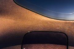 Une partie de la surface de la voiture Photo stock