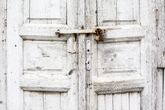 Une partie de la vieille porte Images stock