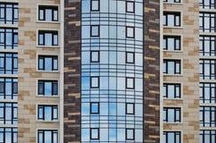 Une partie de la ville établit l'architecture Photographie stock libre de droits