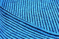 Une partie de laines tricotées Images stock